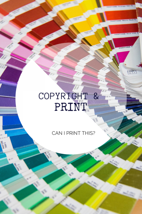 Copyright and Print
