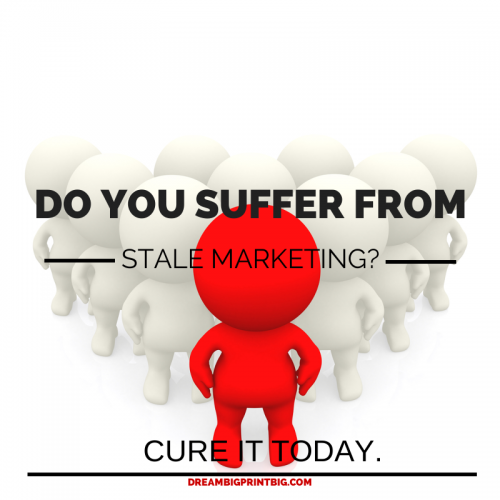 Stale Marketing Cure